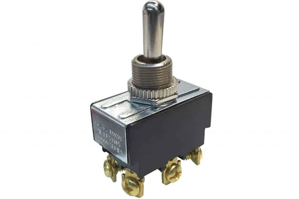Gardner Bender GSW-16 Toggle Switch (DPDT) 20A 125V On/Off/On