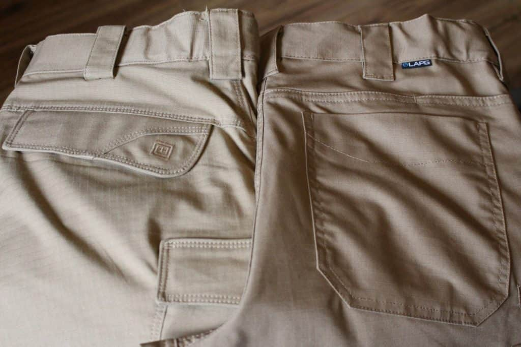 5.11 Stryke pant and LAPG Battle Rattle pant